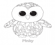 Print pinky beanie boo coloring pages