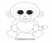 Print casanova beanie boo coloring pages