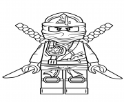 Lego ninjago coloring pages color online free printable for Ninjago green ninja coloring pages
