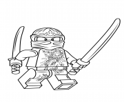 Printable Lego Ninjago Kai Nrg Coloring Pages