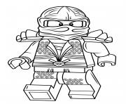 Lego Ninjago Lloyd Zx Coloring Pages Printable