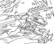 Printable lego chima cragger coloring pages