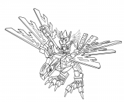 Printable lego chima eagle legend beast coloring pages