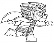 Printable lego chima laval coloring pages
