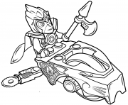 Printable lego chima speedorz coloring pages