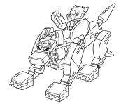 Printable lego chima wolf coloring pages