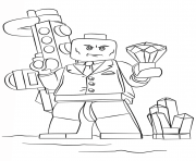 lego lex coloring pages