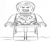 Print legoman of steel coloring pages