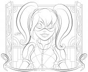 Print kid hd harley quinn coloring pages