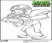zombie football player coloring pages - photo#6