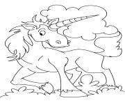 Printable Ki'lin unicorn coloring pages