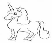 Print The Re'em unicorn coloring pages