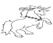 Printable Lancelot unicorn coloring pages