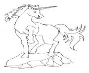 Printable Shadhavar unicorn coloring pages
