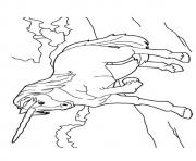 Printable Chinese Unicorn unicorn coloring pages