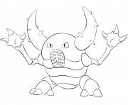 015 beedrill pokemon Coloring pages Printable