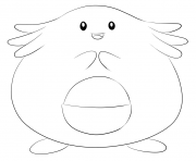 Printable 113 chansey pokemon coloring pages
