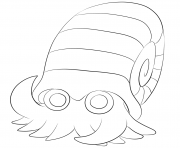 138 omanyte pokemon coloring pages