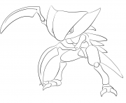 Printable 141 kabutops pokemon coloring pages