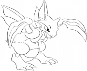 Printable 123 scyther pokemon coloring pages