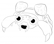 Printable 046 paras pokemon coloring pages