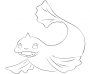Printable 087 dewgong pokemon coloring pages