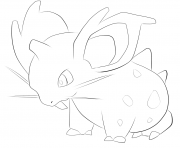 Printable 029 nidoran f pokemon coloring pages