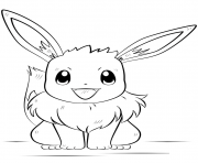 eevee pokemon coloring pages