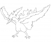 Printable 146 moltres pokemon coloring pages