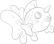 Printable 119 seaking pokemon coloring pages