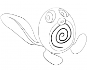Printable 060 poliwag pokemon coloring pages