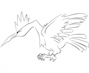 Printable 022 fearow pokemon coloring pages
