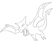 Printable 142 aerodactyl pokemon coloring pages