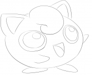 039 jigglypuff pokemon coloring pages