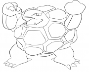 Printable 076 golem pokemon coloring pages