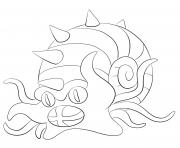 Printable 139 omastar pokemon coloring pages