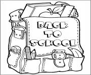 Print back to school coloring pages