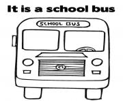 Print great transportation school bus coloring pages