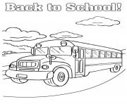 Print back to school bus coloring pages