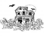 House music pages disney disney halloween coloring pages