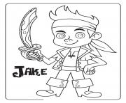 Print jake and the neverland pirates halloween coloring pages