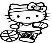 sport hello kitty s for girls free2bd6 coloring pages