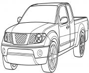 Print ford pickup truck car coloring pages