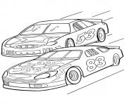 Print The Sports Nascar car coloring pages