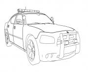Print dodge charger car coloring pages
