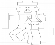 Printable minecraft gangnam style coloring pages