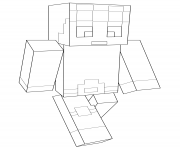 Printable minecraft dantdm coloring pages
