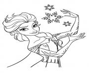 Princess Elsa Coloring Pages