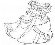Printable princess sleeping beauty coloring pages