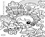 Printable kawaii kawaii coloring pages